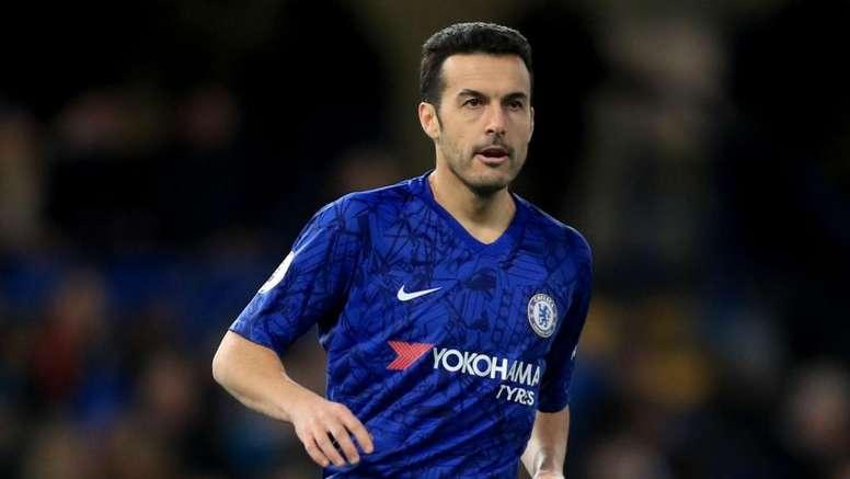 Lampard not selling Pedro. GOAL