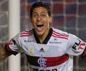 Pedro reafirma sua importância quando o Flamengo mais precisava. AFP