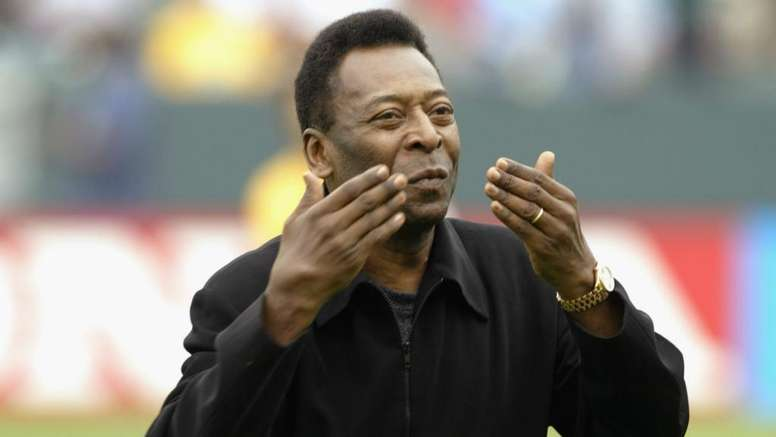 Pele is out of hospital. GOAL