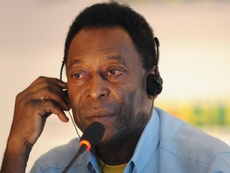 Pele receiving hospital treatment for urinary tract infection.