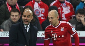 Robben encense Guardiola. Goal