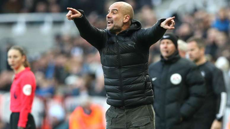 Guardiola thinks they played well. GOAL