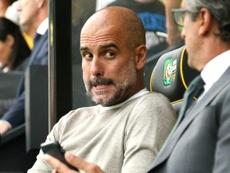 Guardiola revient sur la défaite face à Norwich. Goal