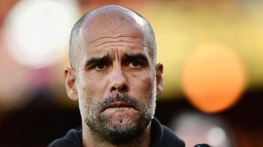 Guardiola : 'Man City n'est pas prêt au succès en C1'. AFP