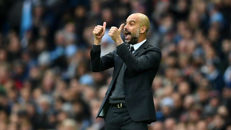 Guardiola's Man City side lost 4-2 to Leicester at the weekend. Goal