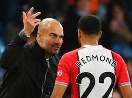 Les deux hommes ont échangé quelques mots à al fin du match. Goal