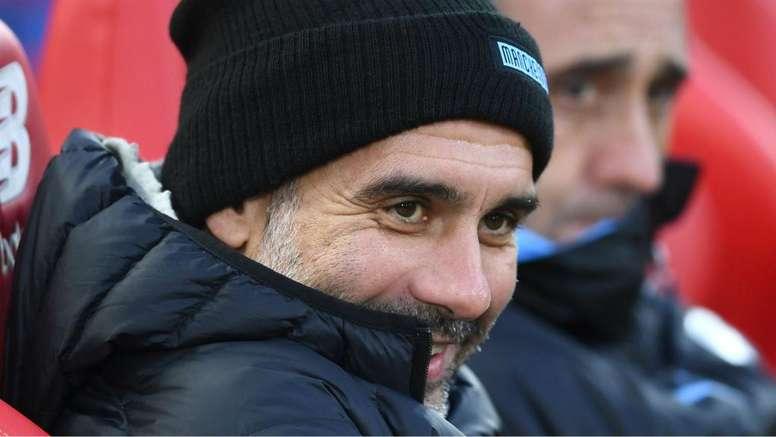 Guardiola rules out United job. Goal