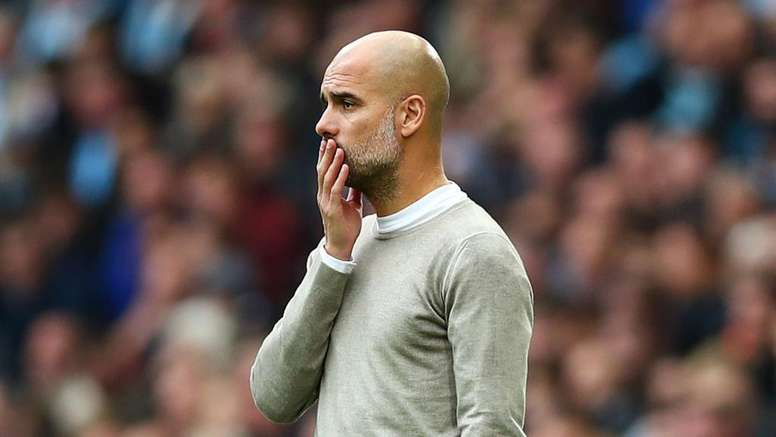 Pep going against his instincts.  GOAL