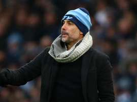 Guardiola expressed his admiration for Raheem Sterling. GOAL