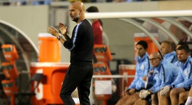 Guardiola saw many positives in the performance. GOAL