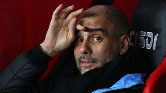 Guardiola eyes Man Utd showdown after FA Cup victory. GOAL