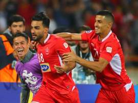 Persepolis celebrating their first AFC Champions League final. GOAL