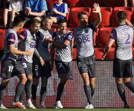 Perth Glory capitalised on their opponents' frailties to go top of the league. GOAL