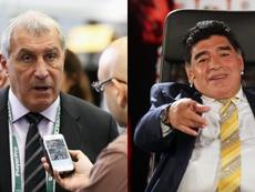 Shilton will not forgive Maradona. GOAL