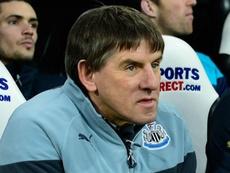 Newcastle coach Beardsley on leave. Goal