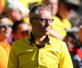 Stoger's time at Dortmund could be up. GOAL