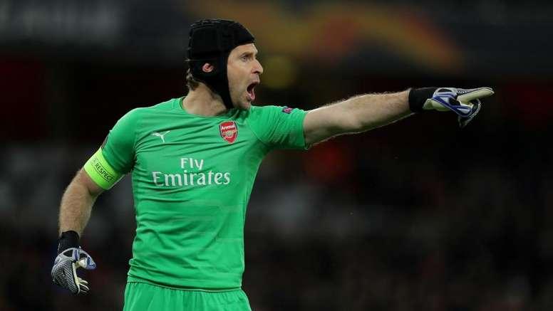 Cech incertain à Arsenal. Goal