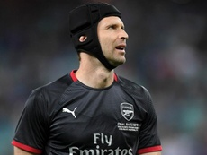 Petr Cech has decided to take up ice hockey, a sport he has always loved. GOAL