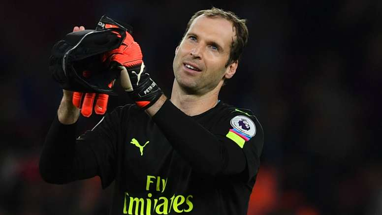 Petr Cech has gone eight games without a clean sheet. Goal
