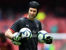 Cech not reconsidering retirement. Goal
