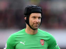 Petr Cech was man of the match against Everton. GOAL