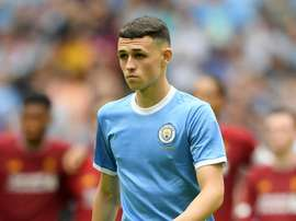 Silva tips Foden for rapid rise. AFP