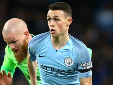Foden is regarded as a star of the future in Manchester. GOAL.