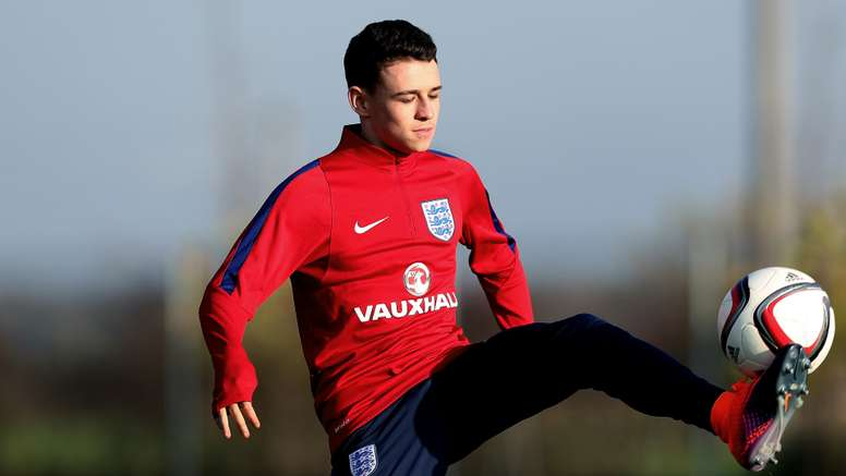 Phil Foden has made the bench for Manchester City against Celtic. Goal
