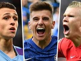 Esses são os 20 finalistas do 'Golden Boy' 2019. AFP