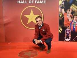 Philipp Lahm intègre le Hall of Fame du Bayern Munich. BayernMunchen