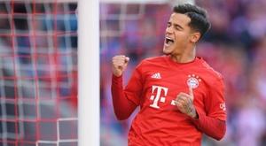 Coutinho volta a brilhar no Bayern e já iguala maca que teve no Barça. GOAL
