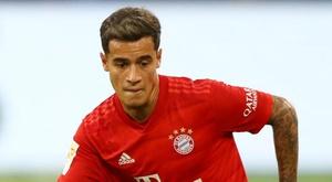 Coutinho estreia como titular do Bayern contra o Mainz. GOAL