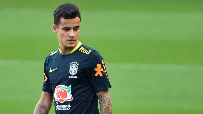 6f8132ffce Neymar  Na Seleção o foco está todo em Coutinho! - BeSoccer