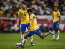 Coutinho põe fim à seca de gols de falta da seleção brasileira. Goal