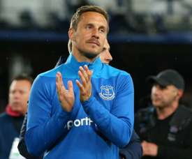 Phil Jagielka will leave Everton in the summer after 12 years at the club. GOAL