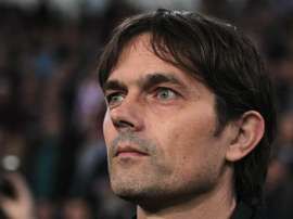 Phillip Cocu has taken Lampard's place as Derby County's new coach. GOAL