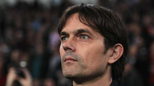 Phillip Cocu has taken Lampard's place as Derby County's new coach. GOAL