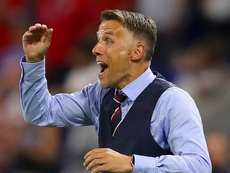 Neville has a newfound sensitivity since he's started coaching the Lionesses. GOAL