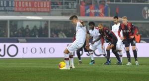 Il Milan batte il Bologna al Dall'Ara. Goal