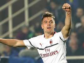 Piatek is happy but knows the headlines exaggerate. GOAL