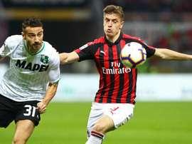 Milan-Sassuolo, goal di Musacchio, Piatek o autogol di Lirola? Goal
