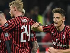 Milan ai quarti di finale. Goal