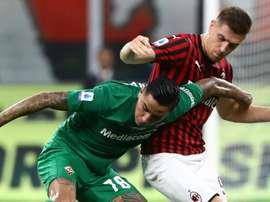 Momentaccio Piatek: sostituito dopo il rosso a Musacchio. Goal