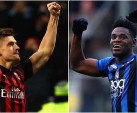 Le probabili formazioni di Atalanta - Milan. Goal