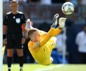 Pickford was England's hero on Sunday. GOAL