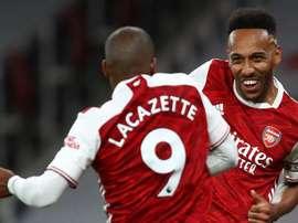 Lacazette et Arsenal sur leur lancée