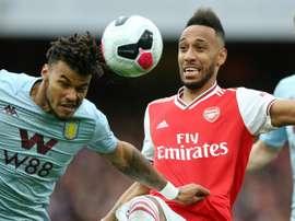 Arsenal-Aston Villa 3-2, les Gunners renversent Villa. AFP