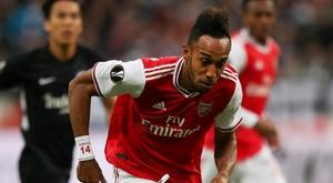 Eintracht Francfort-Arsenal 0-3, les Gunners réussissent leur entrée. AFP