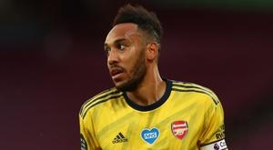 Aubameyang révèle pourquoi il a refusé de bonnes opportunités et a prolongé à Arsenal. AFP