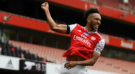 Arteta optimiste pour la prolongation d'Aubameyang. GOAL